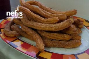 Churros (Tulumba Tatlısının Tarçın Ve Şekerli Versiyonu) Tarifi