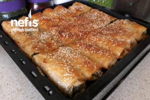 Ispanaklı Börek (Baklavalık Yufka İle) Tarifi