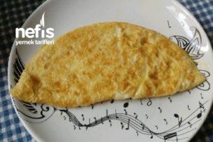 Cheddar Peynirli Omlet Tarifi