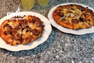 Dondurucuda Pizza Tarifi