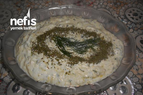 Sakız Kabağı Salatası