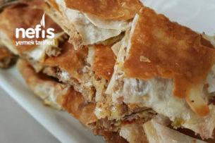 Fırında Kıymalı Patatesli Lavaş Börek (Çıtır Çıtır) Tarifi