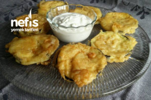 Yunan Usulü Patlıcan Kızartması (Yunan Mutfağı) Tarifi