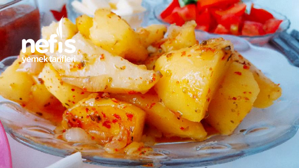 Kahvaltılık Nefis Baharatlı Patates