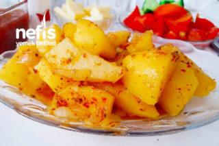 Kahvaltılık Nefis Baharatlı Patates Tarifi