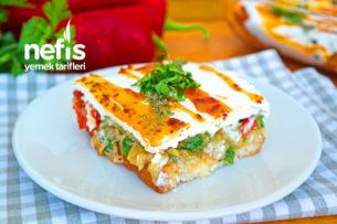 Etimekli Yoğurtlu Gün Salatası (videolu) Tarifi