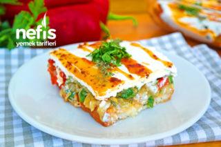 Meşhur Etimek Salatası Tarifi (videolu)