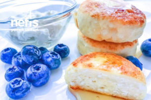 Klasik Sırnik (Kahvaltılık tatlı Lor Pufları) Tarifi