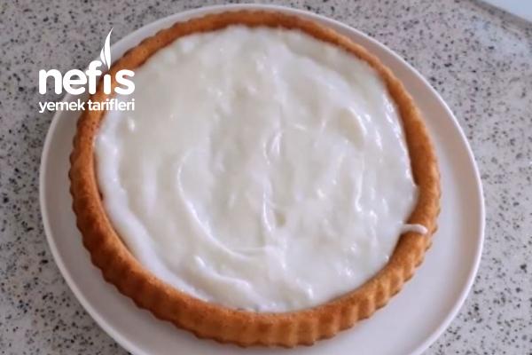 Kremalı Karamelli Tart Kek (videolu)