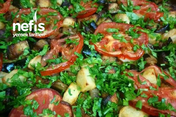 Malatya Usulü Patlıcan Tava Tarifi