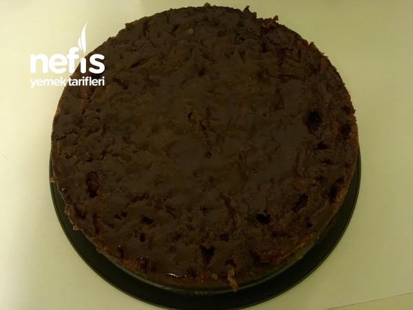 Elmalı Çikolatalı Islak Kek