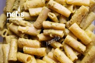 Fesleğenli Pesto Soslu Makarna Tarifi