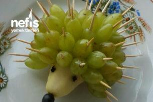 Meyve Kirpi (Çocuklar İçin) Tarifi