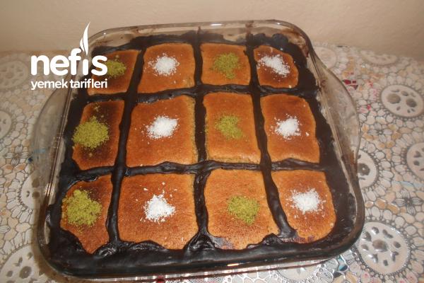 Çikolata Pudingli Yorgan Kek