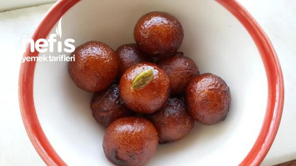 Gulab Jamun ( Hint Tatlısı)