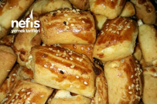 Peynirli Rulo Kurabiye Tarifi