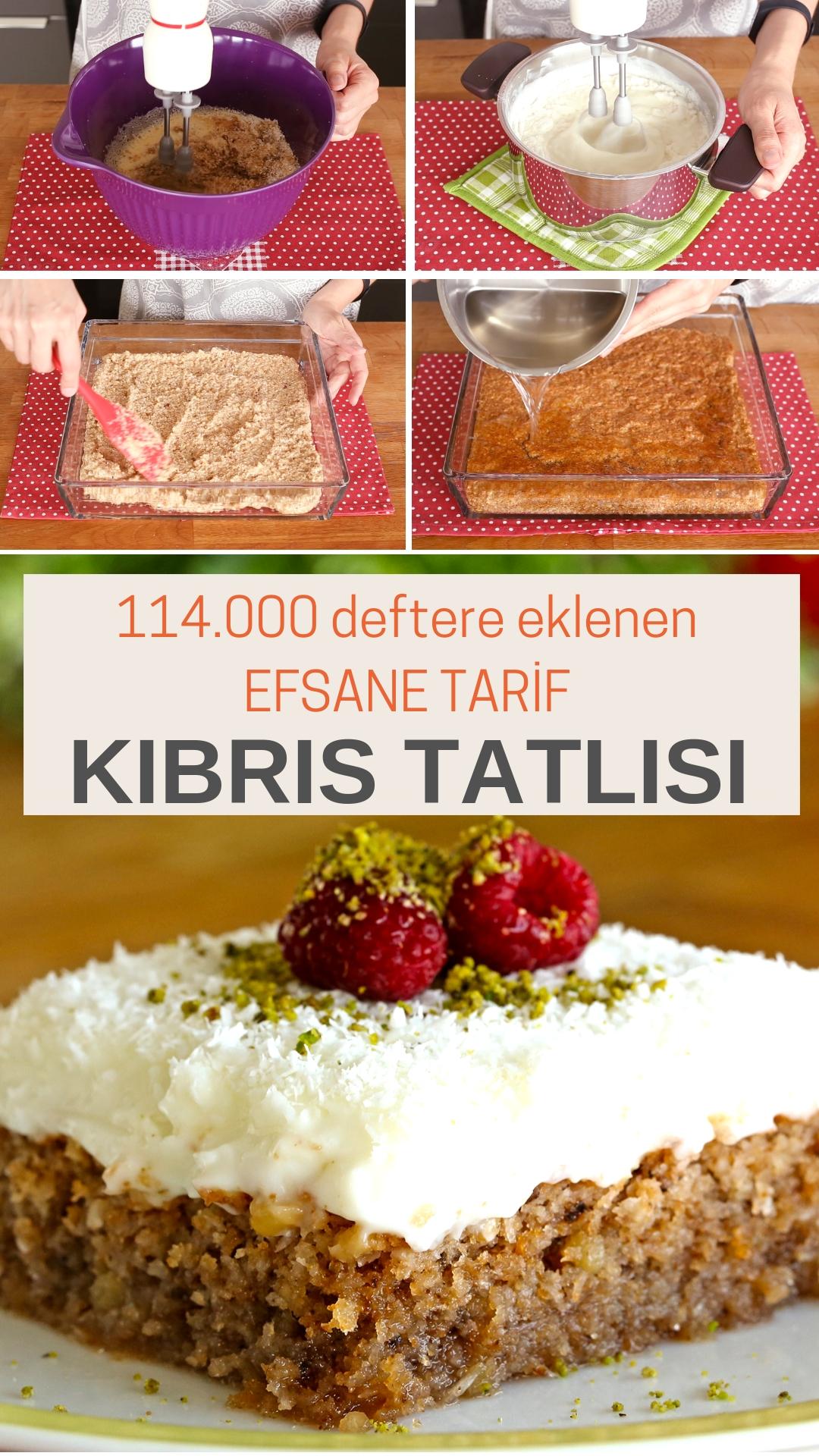Fındık Güzeli Kıbrıs Tatlısı Tarifi