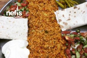Sebzeli Bulgur Pilavı (Mis Gibi) Tarifi