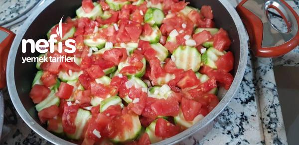 Zeytinyağlı Kabak Yemeği (çok Kolay)