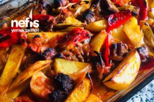Fırında Etli Sebze Yemeği Tarifi