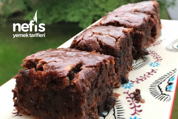Vegan Muzlu Çikolatalı Kek Tarifi