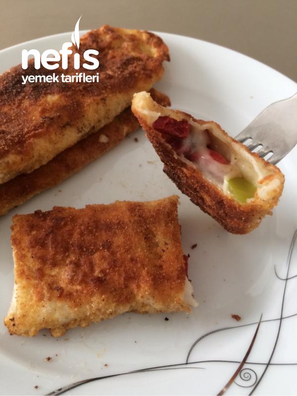 5 Malzemeli Kahvaltıya Çıtır Börek