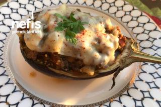 Fırında Bostan Patlıcan Kebabı Tarifi