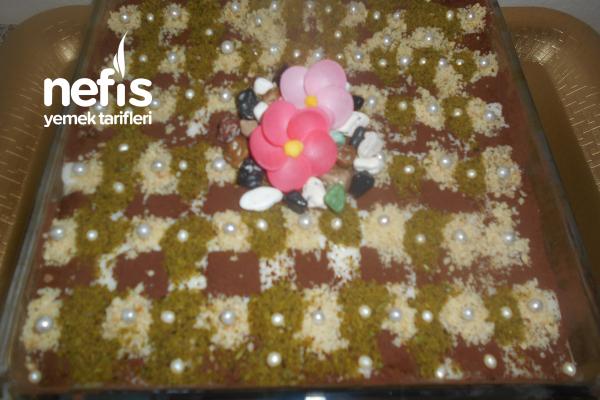 Muhallebili Sütlü Islak Kek