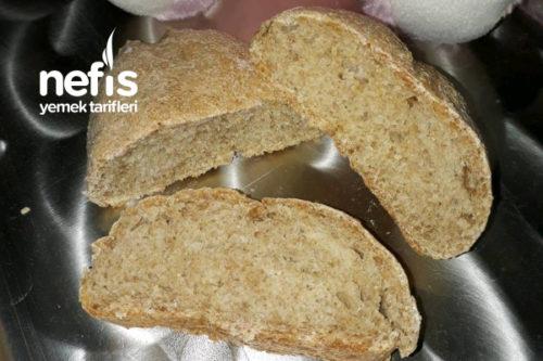 Tam Buğday Unundan Doğal, Bebek Ekmeği ( 8 Ay) Tarifi