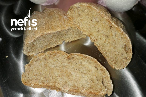 Tam Buğday Unundan Doğal, Bebek Ekmeği (+8 Ay) Tarifi