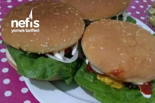 Hamburger (Ev Yapımı) Tarifi