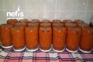 Közlenmiş Biber Patlıcanlı Kahvaltılık Sos Tarifi