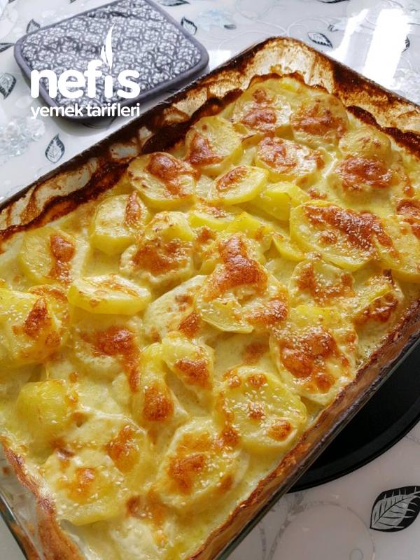 Kremali Sutlu Firinda Patates