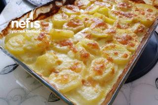Kremalı Sütlü Fırında Patates Tarifi