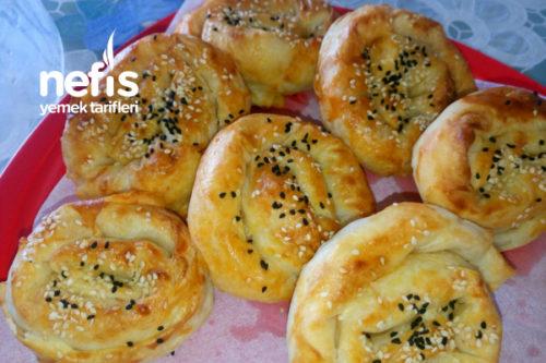 Patatesli Peynirli Gül Böreği (Resimli) Tarifi
