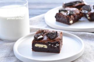 Çikolata Dolgulu Nefis Brownie Tarifi