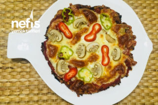 Kilo Aldırmayan Pizza Tarifi