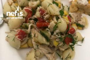 Tavuklu Makarnalı Salata Tarifi