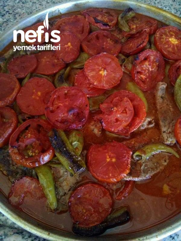Fırında Sebzeli Biftek.(çok Kolay Çok Lezzetli)