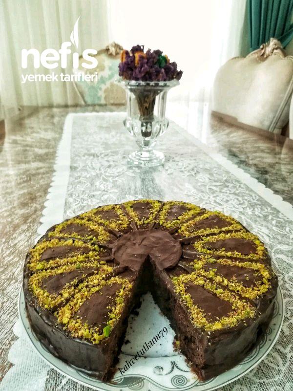 Pasta Görünümlü Çaylı Kek Tarifi
