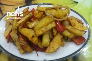 Fırında Kapya Biberli Patates Tarifi