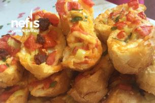Fırından Yeni Çıkmış Kahvaltılık Taze Ekmek Dilimleri Tarifi