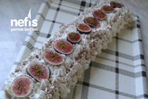 İncirli Rulo Pasta Tarifi