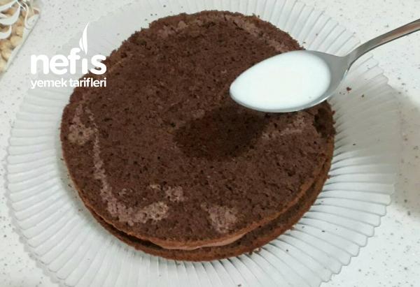 Kakaolu Fındıklı Pasta(pratik Ve Hafif)