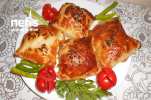 Tavuklu Milföy Börek Tarifi