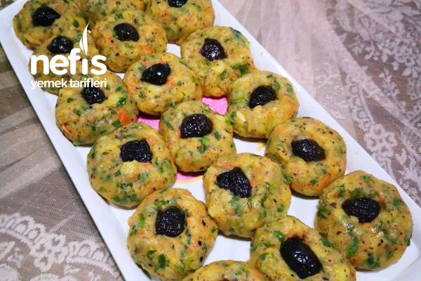 Zeytin Gözlü Patates Salatası Tarifi