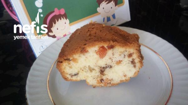 Kuru Meyveli Okul Keki (pamuk gibi)