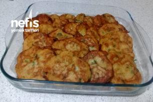 Patatesli Ve Peynirli Kabak Mücver Tarifi