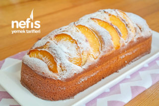Nektarinli Yumuşacık Kek Tarifi (videolu)