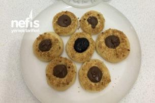 Nutellalı Marmelatlı Fındıklı Kurabiye Tarifi